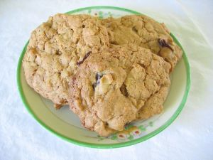 Cherry Banana Oatmeal Cookies